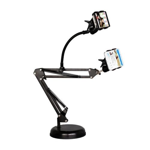 Video Staffa di trasmissione a doppio telefono mobile a mensola Staffa di trasmissione a doppio telefono mobile a sbalzo
