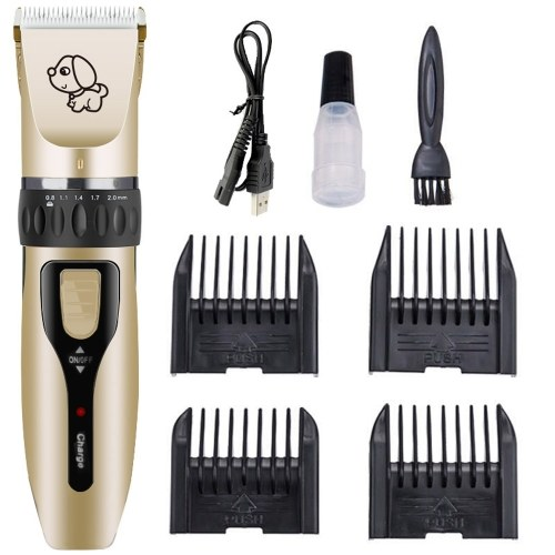 Dog Hair Trimmer Electric Pet - Máquina de aseo profesional