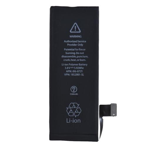 Batteria di relazionamento del telefono di capacità elevata per la batteria al litio incorporata del telefono cellulare di iPhone 5S 1560mAh 3.8V