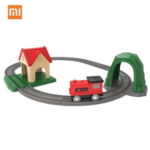 Xiaomi Mitu Train Bricks Building Blocks with Trails Canta Song Music Toys
