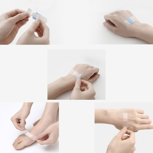 50 шт. / Лот Xiaomi Huazhou Рана Гипс Клей Нерегулярное Лента Помощи Первая Помощь