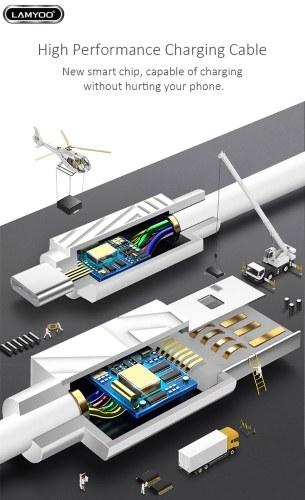 LAMYOO NO5A Кабель для Передачи Данных Micro USB Кабель для быстрой зарядки Зарядка + Линия данных 5A Быстрая зарядка Провод передачи данных Портативный Мода Смартфоны Шнур для Android