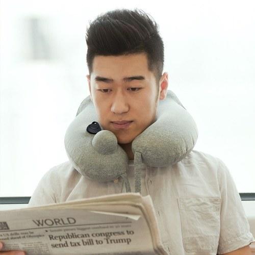 Xiaomi Mijia Inflatable Neck Pillow Portable U-shaped Pillow