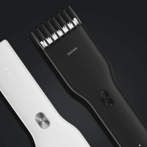 Xiaomi ENHCEN Boost Hair Trimmer USB charger Electric Hair Clipper Two Speed Nano Ceramic Cutter Hair Fast Charging Rechargeable With Type-C Port for Kids Adults With Scissors Hair Cut Cloth
