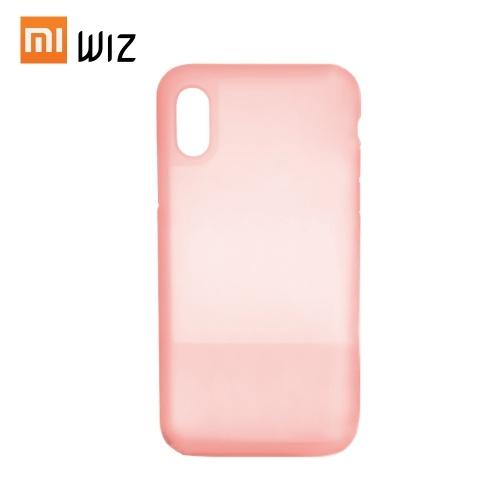 Funda de teléfono de silicona para iPhone XS MAX Hermoso color antichoque Cubierta de teléfono medio transparente Funda de teléfono impermeable a prueba de polvo de Xiaomi Youpin