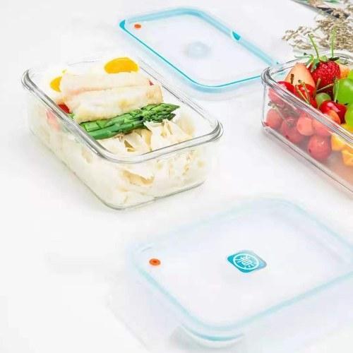 Xiaomi Youpin Microwave Glass Lunch Box Food Storage Box Kitchen Containers Keep Food Fresh Fridge Storage Box
