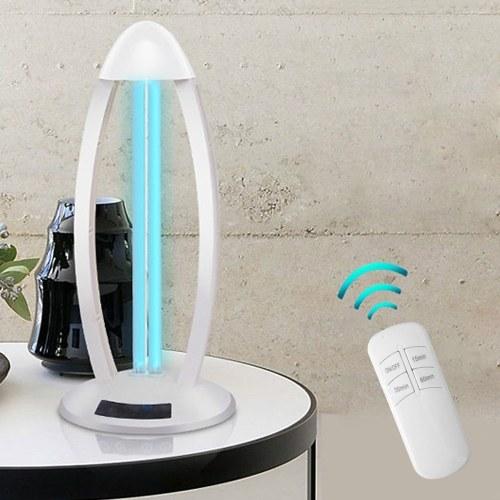US Plug 110V Household UV Lamp Ozone UV Sterilization Lamp Portable Disinfection Lamp Tube Bed Mite UV Sterilizer 38W Line Control
