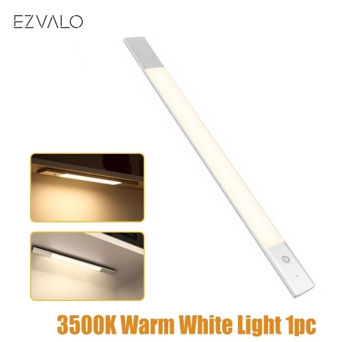Xiaomi Youpin EZVALO Wireless Lamp LED Night Light Induction Human Body Motion Infrared Sensor 1500mAh USB Rechargeable For Bedside Wardrobe Cabinet 3500K Warm White Light 1pc