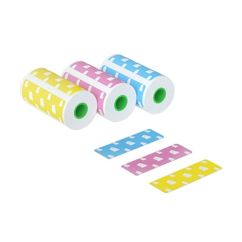 PeriPage Thermal Printing Paper Bear Label Sticker Compatible with PeriPage Printer A6 56*30mm(3 Rolls)