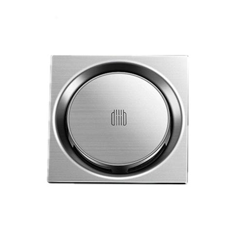 Diiib Desodorante para drenaje de piso a prueba de insectos 304 Drenaje giratorio de acero inoxidable Filtro anti-bloqueo Drenaje para el hogar Cocina Balcón Lavadora