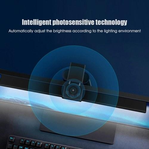 Midea Desk Screen Hanging Light 4000K Eye Comfort Lamp Computer Laptop Screen Bar Table Lamp Intelligent Photosensitive Technology/USB Powered/Brightn