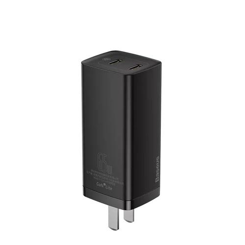 Baseus 65W GaN2Lite充電器-デュアルType-C