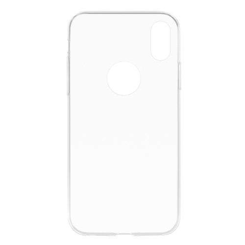 Clear Soft TPU Back Case Transparent Protective Cover Ultra-thin Crystal Clear Shell Protection for iPhone X