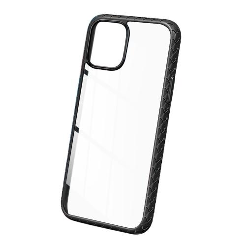 Handy-Schutzhülle Transparente dünne Abdeckung Stoßfest / Kratzfest / Anti-Fall / Anti-Skid Clear Bumper Case Harter PC mit weichem TPU-Rahmen Unterstützung für kabelloses Laden Kompatibel mit iOS Phone 12 Pro Max 6,7 Zoll