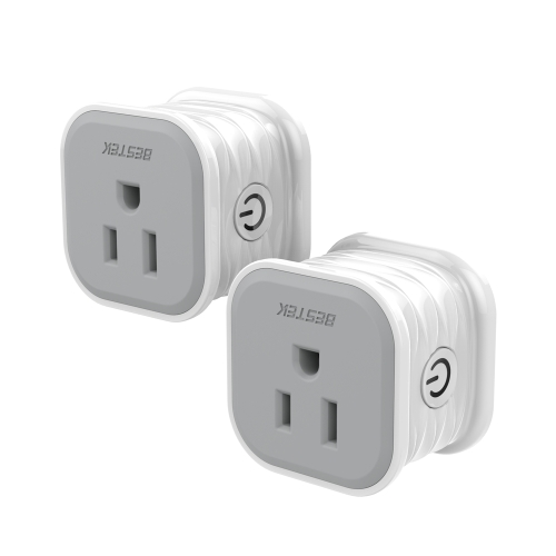 BESTEK MRJ1012 Wifi Smart Plug 2 Pcs