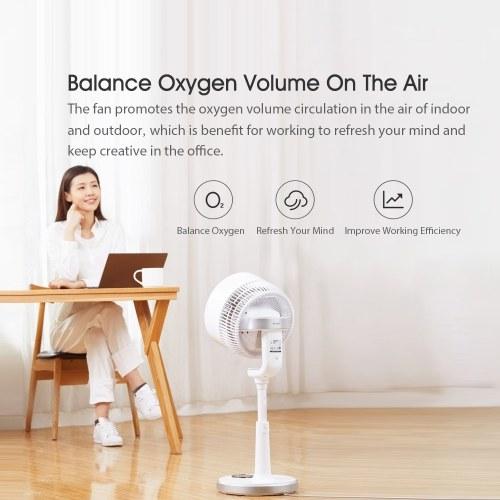 Xiaomi Youpin Airmate Вентилятор циркуляции воздуха 7 дюймов Вертикальный Большой объем воздуха Природа Скорость ветра Регулируемый воздухоохладитель Для домашнего офиса 220 В фото