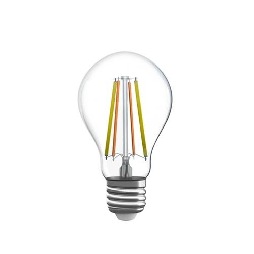 SONOFF B02 F-A60 Wi-Fi Smart LED-Glühlampe 60 W Äquivalente Vintage Edison-Glühbirne Dimmbar Abstimmbar Weiß (2200K-6500K) 806LM E27 Basis Antik Klarglas-Stil für Zuhause (Cyan)