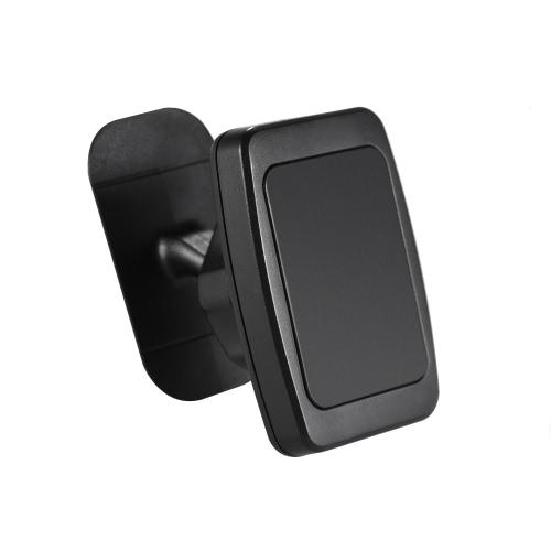 Support de voiture universel Support de voiture magnétique Support de voiture Support de téléphone portable de 360 degrés pour iPhone 7 6 Smartphone Samsung