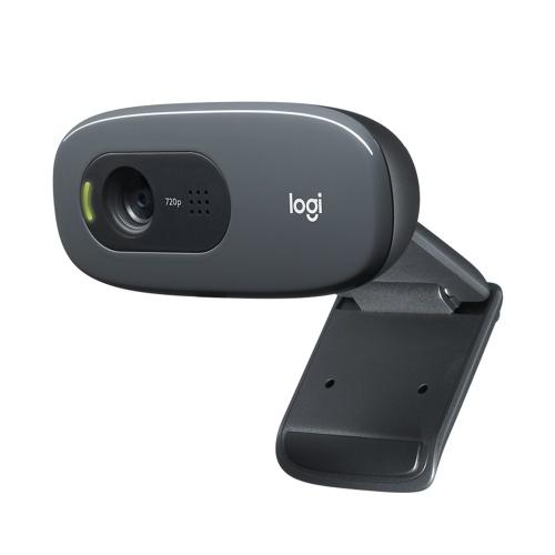 Logitech C270 HD Webcam 720P Video Card Webcam