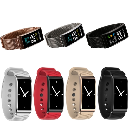 Microwear X3 Waterproof Smart Band - Metal Band