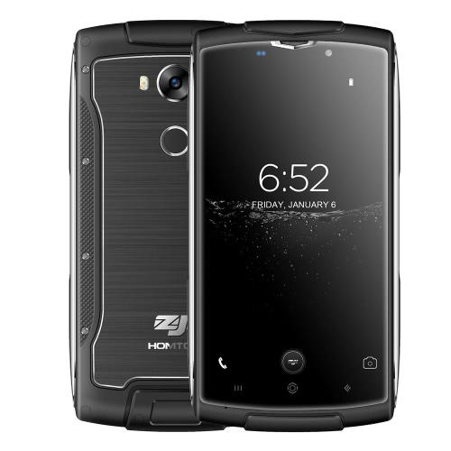HOMTOM ZOJI Z7 Outdoor Ragged Tough Phone 4G FDD-LTE 3G WCDMA 5.0 polegadas HD 2GB RAM + 16GB ROM