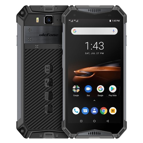 Ulefone Armor 3W IP68 wasserdichtes robustes Mobiltelefon für Länder der Europäischen Union