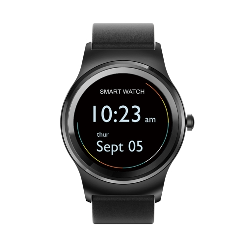 SMA Round Smart Watch 1.3-Inch IPS Display MTK2503A Activity Tracker
