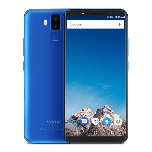 Vernee X 4G Mobile Phone 4GB + 64GB (blu)