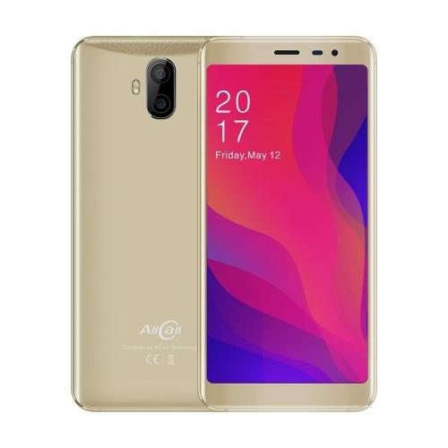 (Versão não-UE) AllCall Rio X 3G do telefone móvel de 5,5 polegadas Android 8.1 2850mAh 1GB de RAM 8GB ROM 13MP + 5MP Câmeras MTK6580M Quad Core Smartphone