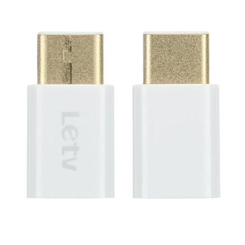 Letv reversível Design USB 3.1 conector tipo C para conector de adaptador Micro USB para Nokia N1 ZUK Z1 Letv Xiaomi 4c USB 3.1 Interface Smartphone Tablet PC