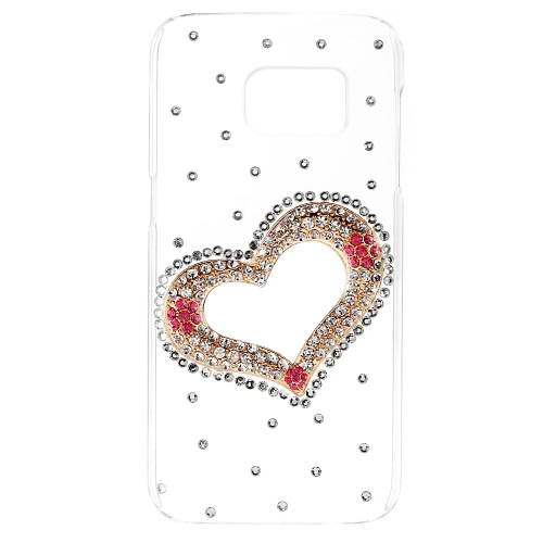 KKmoon Shell Case Protective Back Cover Ultrathin Lightweight Plastic Fashion Bling Bumper for Samsung Galaxy S7