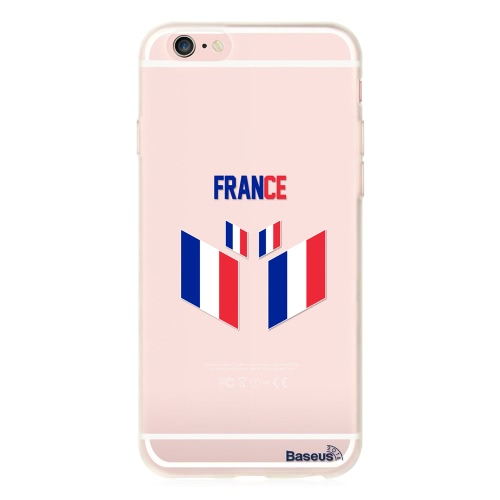 Baseus TPU Phone Case Sport Europe UK / France / Spain / Germany / Italy Soccer Football Fans Protective Cover Shell