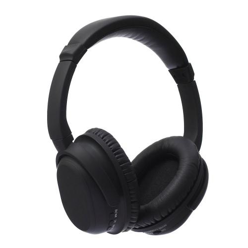 BH519 ANC Aktywna redukcja szumów Słuchawki Bluetooth V4.0 CSR bezprzewodowy Przewodowy zestaw głośnomówiący słuchawkowe Regulowana składana Over Ear Headset izolacji usznej z mikrofonem do PC Mobile Phone Tablet Xbox