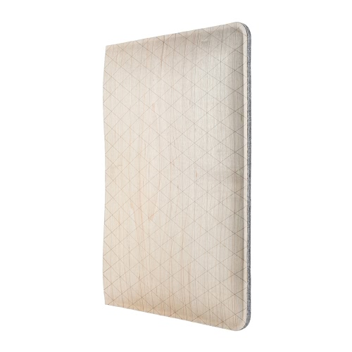 Samdi Birch coperchio di protezione in legno di caso di Shell con interno in feltro Base per 7,9 pollici Mini iPad 4/2 Eco-friendly materiale elegante portatile ultrasottile anti-graffio anti-polvere durevole
