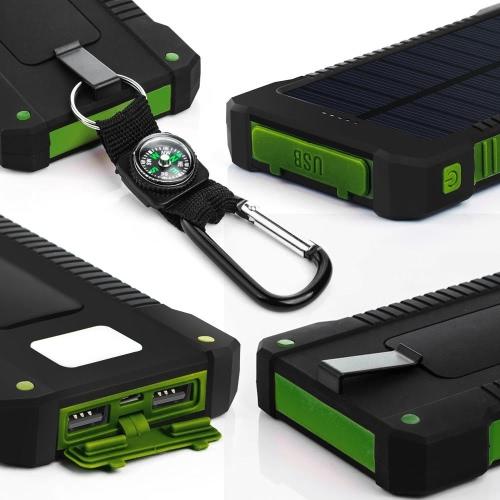 8000mAh Solar Energy Panel Charger