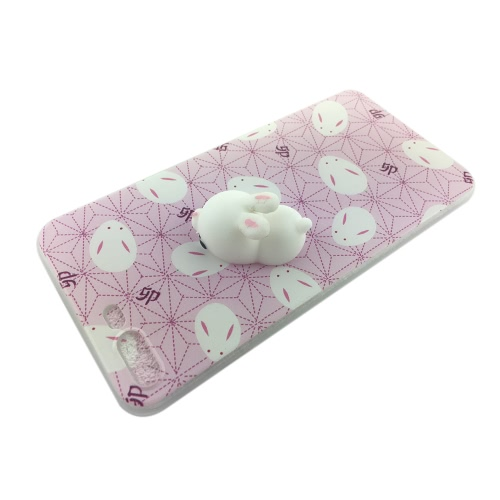 Background Cute 3D Squishy Silicon TPU Shell