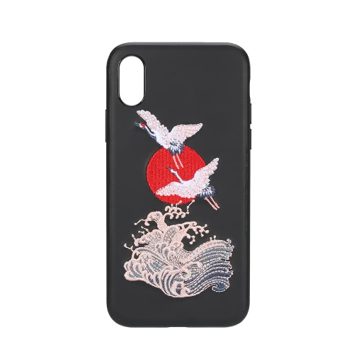 Custodia per iPhone Cover protettiva per iPhone Ultra-sottile Cover posteriore PC + TPU