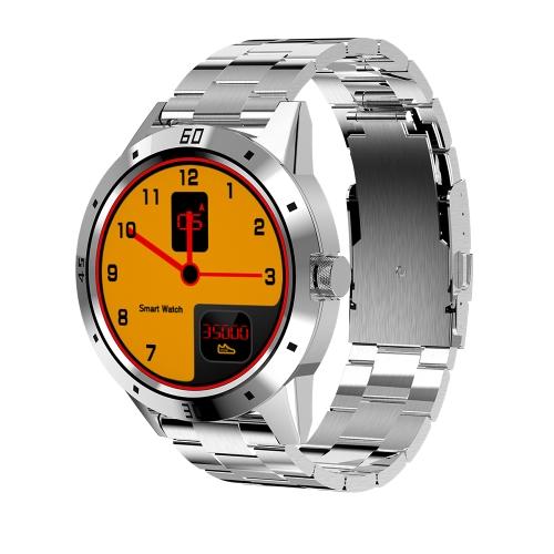 """Smart Watch Relógio de pulso multifuncional 1.3 """"TFT BT Smartwatch Mensagem de suporte Empurrando Lembrete de chamada Monitor de frequência cardíaca Pedômetro Jogador de música Câmera remota Obturador"""