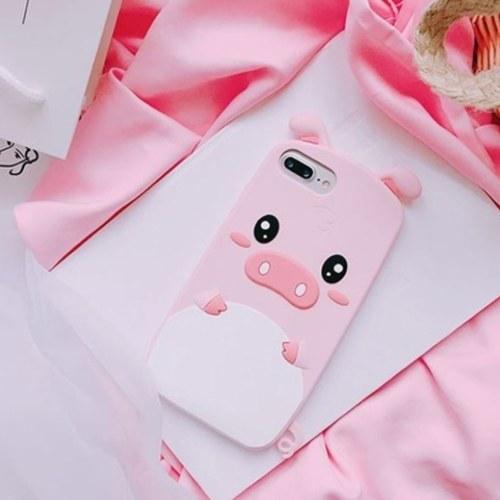 Other 3D Cartoon Cute Pig Phone