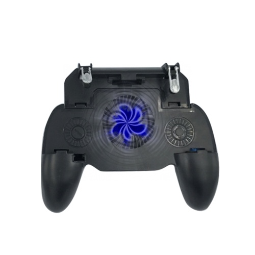Pubg Controller Gamepad Mobile Game Controller for PUBG Fortnite L1R1 Turnover Triggers Fire Buttons With Portable Charger Cooling Pad