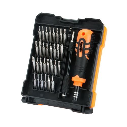 JAKEMY JM-8160 33 em 1 Hardware portátil Ferramentas manuais Set Conjunto de chave de fenda de precisão Kit de ferramentas de reparação multifunções