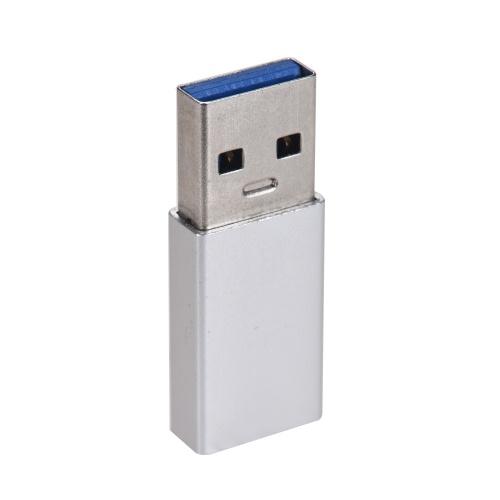 Lega di alluminio USB 3.0 da maschio a tipo C USB-C Femmina convertitore di dati di sincronizzazione Adattatore di ricarica per cavo dati Huawei Xiaomi
