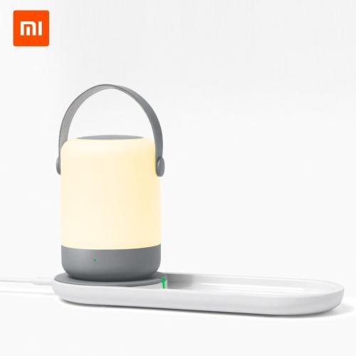 Беспроводное зарядное устройство для Xiaomi Youpin Zhiji Night Light Портативное быстрое беспроводное зарядное устройство 10 Вт 5 В 2A Для Xiaomi Mi 9 Samsung S10