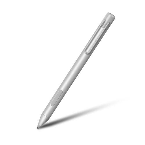 Original Chuwi Hi13 Hipen H3 Capa de capacitância ativa Caneta Metal Corpo 1024 Sensibilidade de pressão de nível Caneta de escrita Caneta Tempo de uso longo Preciso Sensível Liso Desenho portátil Lápis com teclas multifunções Clip de caneta para Chuwi Hi13 Tablet PC