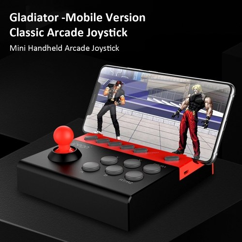 ipega PG-9135 Gladiator -Mobile Version Wireless BT Gamepad Wireless Game Controller for Smartphone/ Tablet / Smart TV iOS 11.0/ Android 6.0 Black