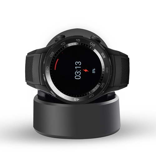 Carregador sem fio portátil Carregador Berço Dock Carregador Carregador de substituição de alta qualidade para Huawei Watch 2