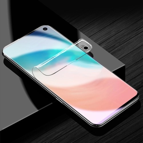 1 Pack Full Total Protection Transparent HD Clear Film Pane Screen Protector Membrane for Samsung s10lite Smudge Dust Proof Slim Design