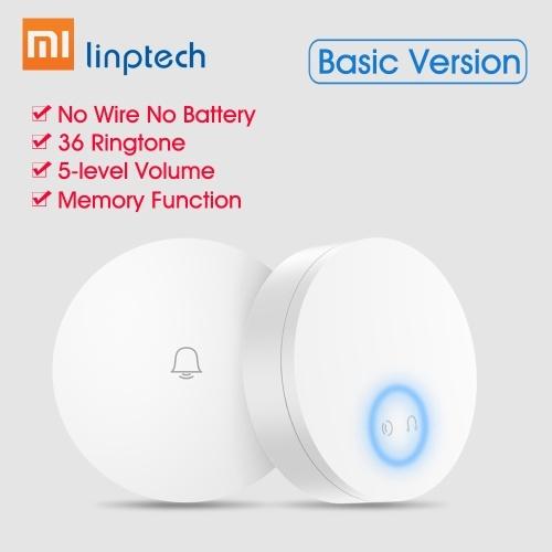 Xiaomi Mijia Linptech Self Powered Wireless Doorbell