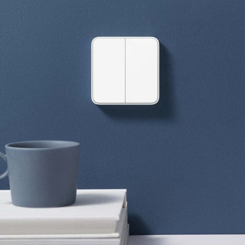 Xiaomi Mijia Smart Switch Wall Switch Single And Dual Open BT Remoto Control Support Voice Control Smart Light Intelligent Lamp For Xiaomi Smart Home(
