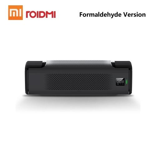 Purificador de aire del coche Xiaomi Roidmi P8 inteligente con pantalla OLED Silenciador Purificadores de neblina del formaldehído PM2.5 Intelligent Mi Home APP 12V 8.4W